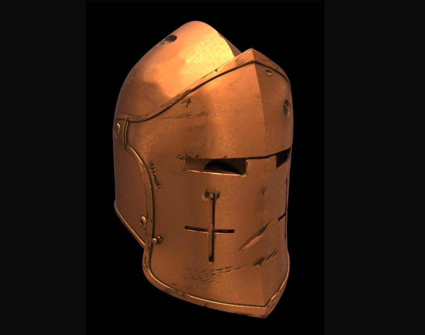 Capture d'écran 2017-09-14 à 15.54.47.png Download free STL file For Honor Warden Helm - Knight • 3D print template, VillainousPropShop