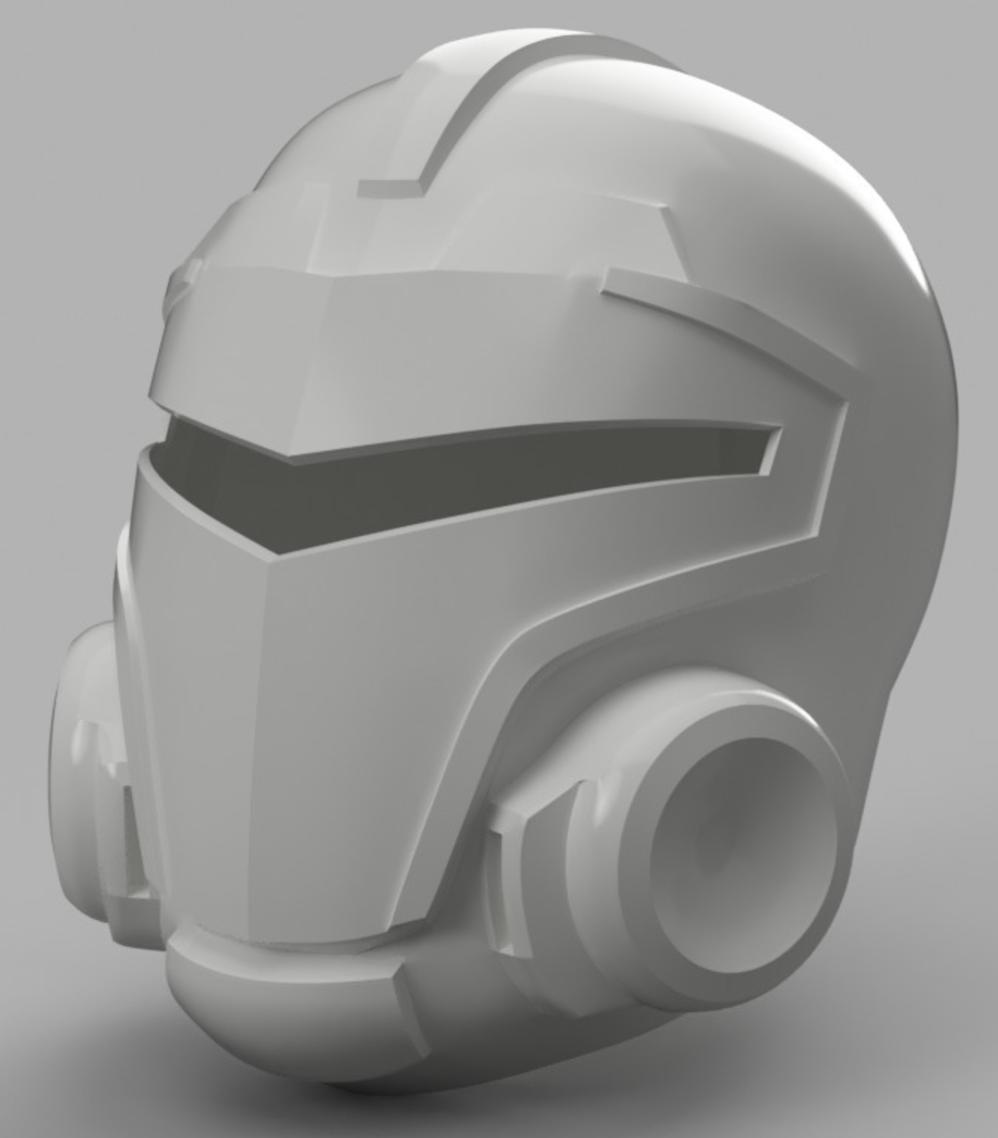 Capture d'écran 2017-09-15 à 12.07.00.png Download free STL file Blood Dragon Helmet Mass Effect 2 • Design to 3D print, VillainousPropShop