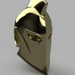 Archivos 3D Dr. Fate Helmet Injustice 2, VillainousPropShop
