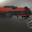 Harley Quinn's Gun Injustice 2 2.png Download STL file Harley Quinn Injustice 2 Gun • Template to 3D print, VillainousPropShop