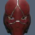 Red Hood Helmet v3 3.png Download STL file Red Hood Helmet Injustice 2 • Model to 3D print, VillainousPropShop