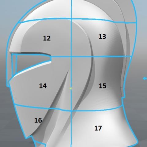 Capture d'écran 2017-09-15 à 09.59.47.png Download free STL file Senate Guard Helmet (Star Wars) • 3D printer design, VillainousPropShop