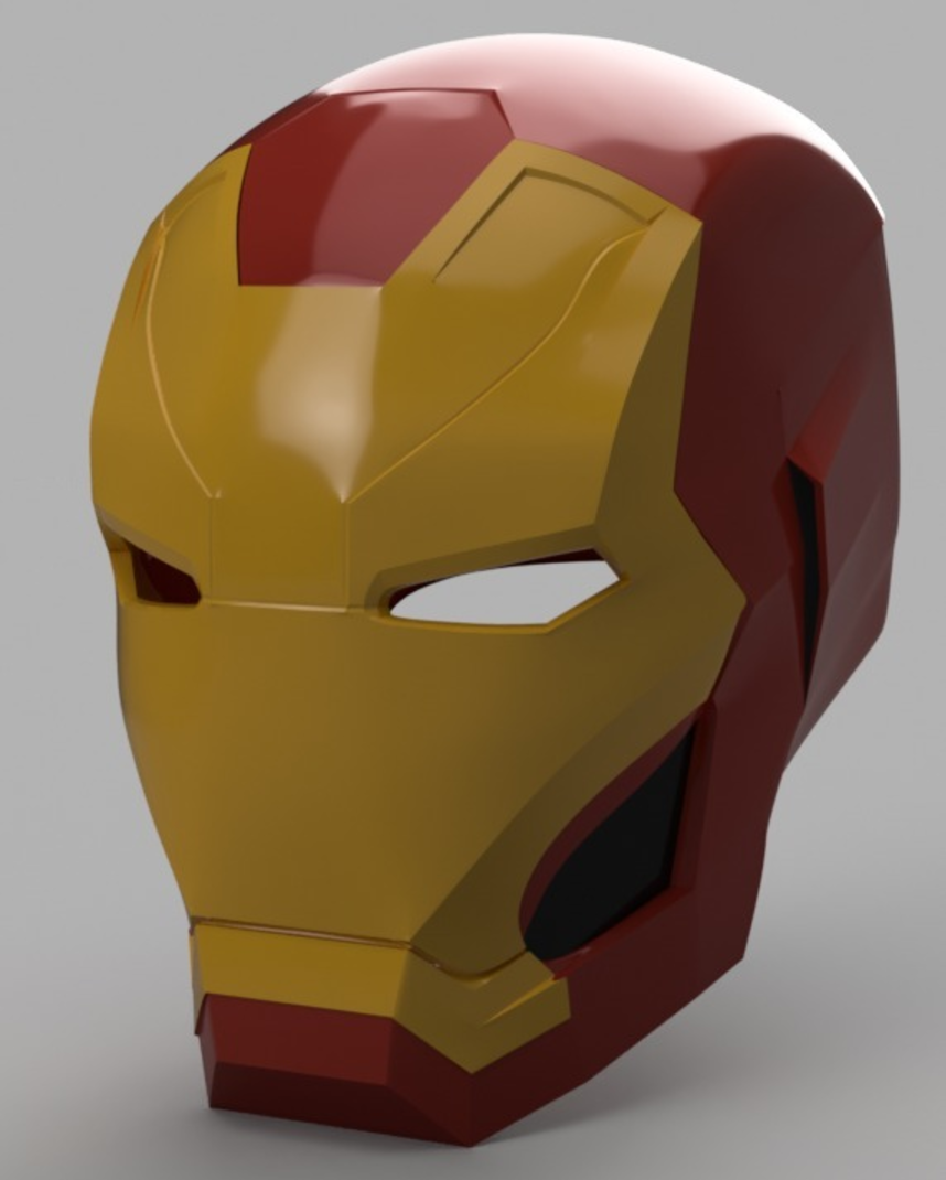 Capture d'écran 2017-09-15 à 09.57.34.png Download free STL file Iron Man Mark 46 Helmet (Captain America Civil War) • 3D printing template, VillainousPropShop