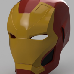 Télécharger fichier STL gratuit Iron Man Mark 46 Helmet (Captain America Civil War) • Objet pour impression 3D, VillainousPropShop