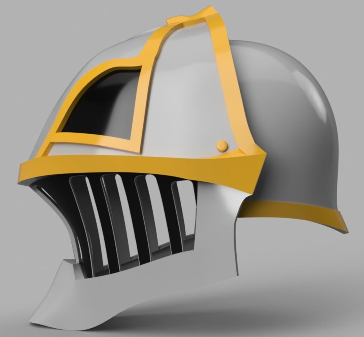 Capture d'écran 2017-09-15 à 10.35.52.png Download free STL file  Iron Musketeer's Helmet (Final Fantasy XI) • 3D printable design, VillainousPropShop