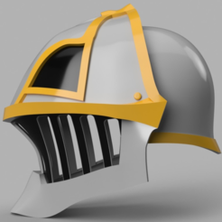 Free 3D model  Iron Musketeer's Helmet (Final Fantasy XI), VillainousPropShop