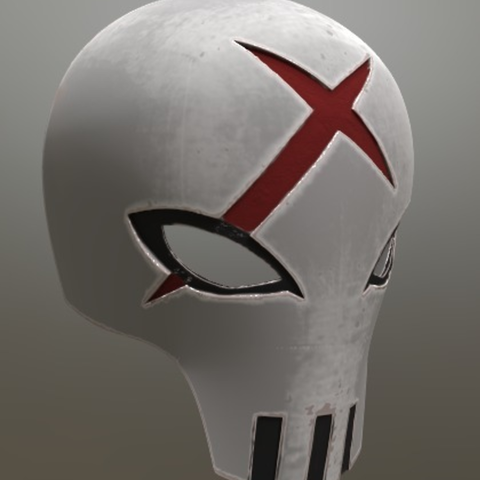 Capture d'écran 2017-09-15 à 21.04.47.png Download free STL file Red X Mask Teen Titans • 3D printable object, VillainousPropShop