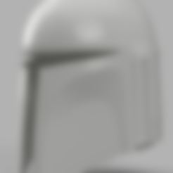 Part_1.stl Download free STL file Death Watch Mandalorian Helmet Star Wars • 3D print design, VillainousPropShop