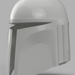 Download free 3D printer designs Death Watch Mandalorian Helmet Star Wars, VillainousPropShop
