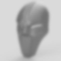 Part_1_v2.stl Download free STL file Kotor Sith Mask Star Wars • 3D printing model, VillainousPropShop