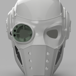 Deadshot helmet  3 v1.png Download STL file Deadshot Injustice 2 Concept Helmet • 3D print object, VillainousPropShop