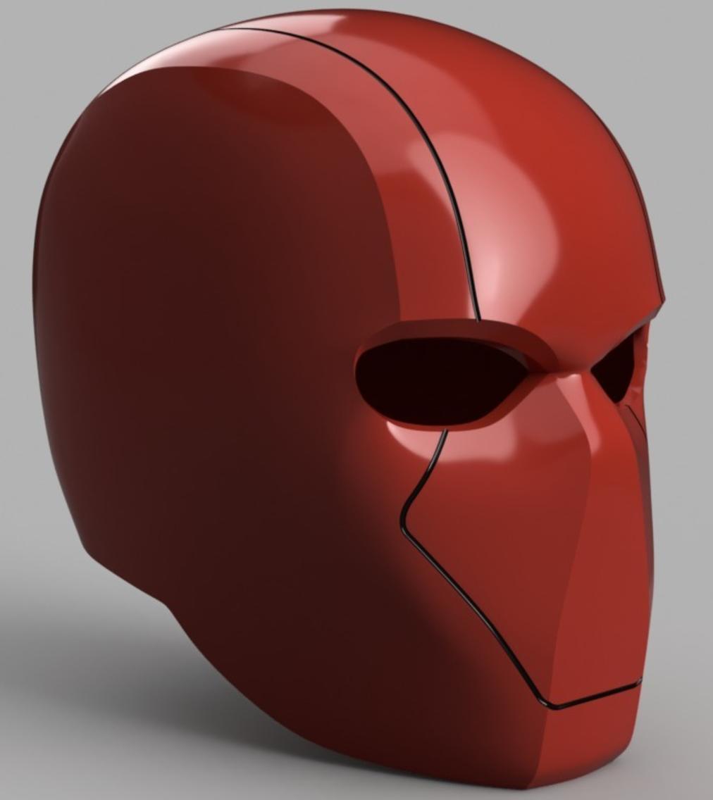 Capture d'écran 2017-09-15 à 16.59.15.png Download free STL file Red Hood Helmet (Batman) with Details • Template to 3D print, VillainousPropShop