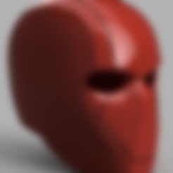 Free 3D printer file Red Hood Helmet (Batman) with Details, killonious