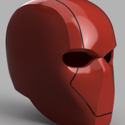 Download free 3D printing files Red Hood Helmet (Batman) with Details, VillainousPropShop