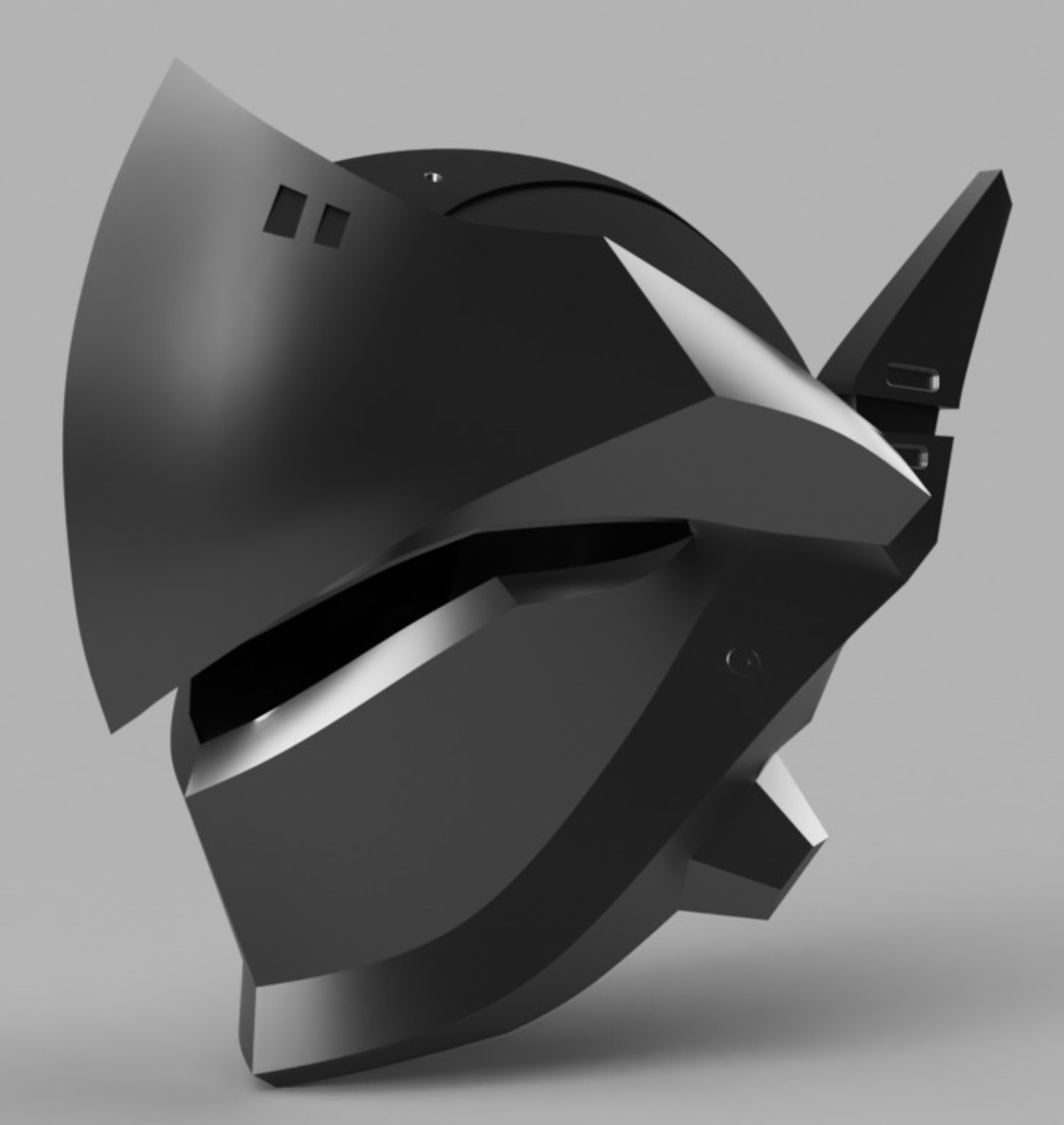 Capture d'écran 2017-09-14 à 17.25.03.png Download free STL file Genji Helmet (Overwatch) • 3D printing template, VillainousPropShop