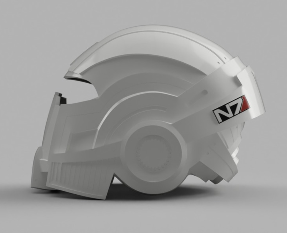 Capture d'écran 2017-09-14 à 15.03.07.png Download free STL file Mass Effect N7 Breather Helmet • Template to 3D print, VillainousPropShop