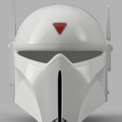 Archivos STL gratis Imperial Super Comando Casco (Star Wars), VillainousPropShop