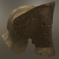 Free 3D printer file For Honor Lawbringer Helm - Knight, killonious