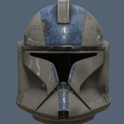 Descargar modelos 3D gratis Casco Clone Trooper Fase 1 Star Wars, VillainousPropShop