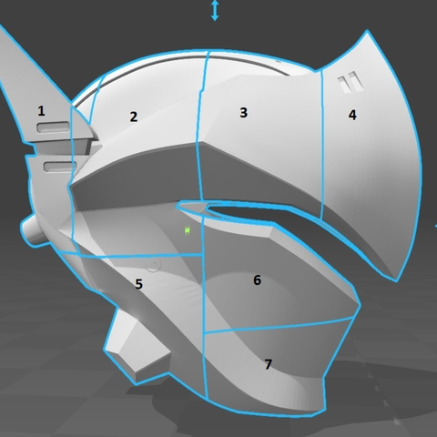 Capture d'écran 2017-09-14 à 17.25.10.png Download free STL file Genji Helmet (Overwatch) • 3D printing template, VillainousPropShop