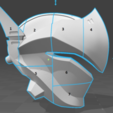 Download free 3D printing models Genji Helmet (Overwatch), VillainousPropShop