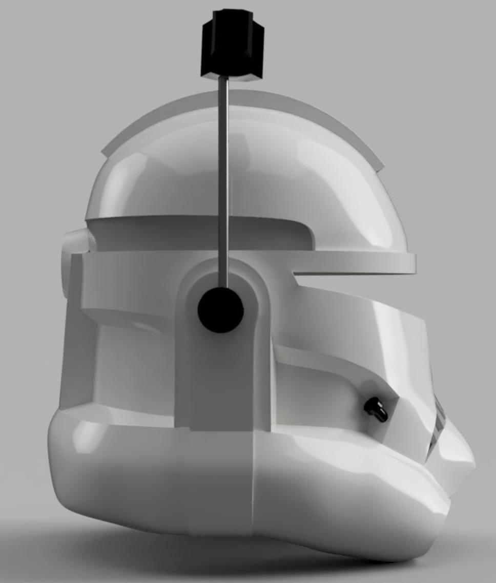 Capture d'écran 2017-09-15 à 19.15.41.png Télécharger fichier STL gratuit Capitaine Rex Casque Phase 2 (Star Wars) • Plan imprimable en 3D, VillainousPropShop