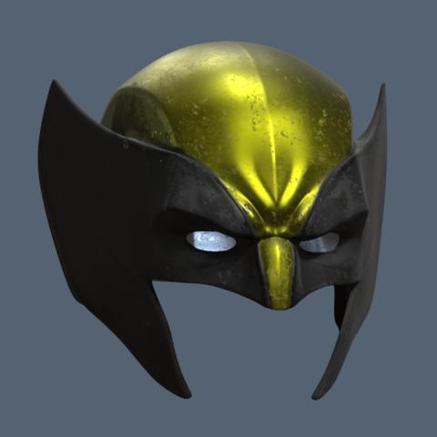 Wolverine Masks Short 2.png Download STL file Wolverine Mask • 3D printable model, VillainousPropShop