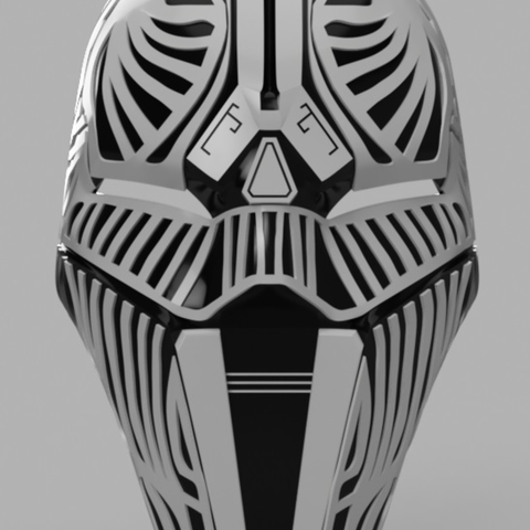 Download free STL file Sith Acolyte Mask (Star Wars) • 3D printing object, VillainousPropShop