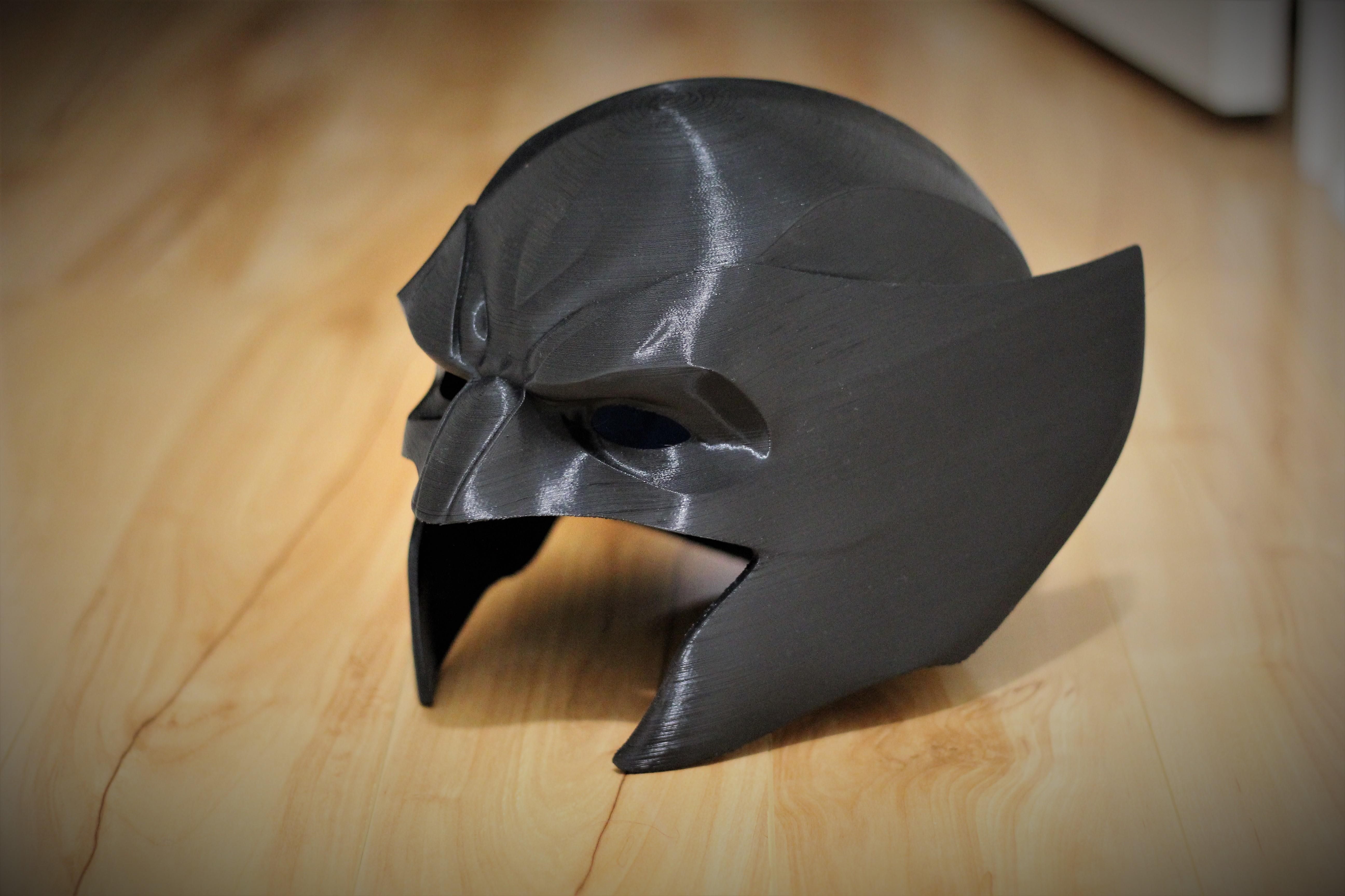 IMG_0111.JPG Download STL file Wolverine Mask • 3D printable model, VillainousPropShop