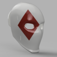 Wild Card Diamond Mask.png Download STL file Wild Card Masks Fortnite  • 3D print model, VillainousPropShop