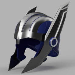 Download free STL Thor Ragnarok Helmet, VillainousPropShop