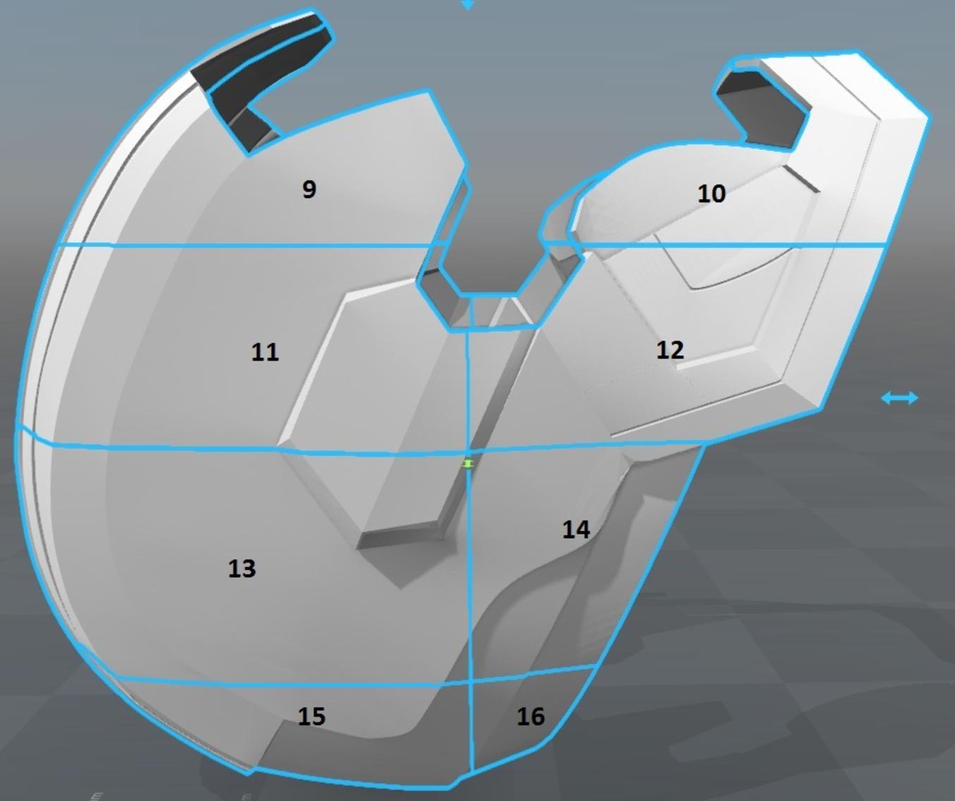Capture d'écran 2017-09-15 à 17.34.52.png Télécharger fichier STL gratuit Iron Patriot Helmet (Iron Man) • Objet à imprimer en 3D, VillainousPropShop