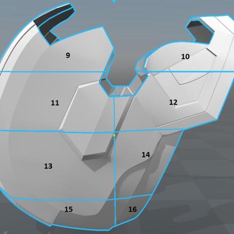 Fichier impression 3d gratuit iron patriot helmet iron man cults - Jeux de iron man 3 gratuit ...