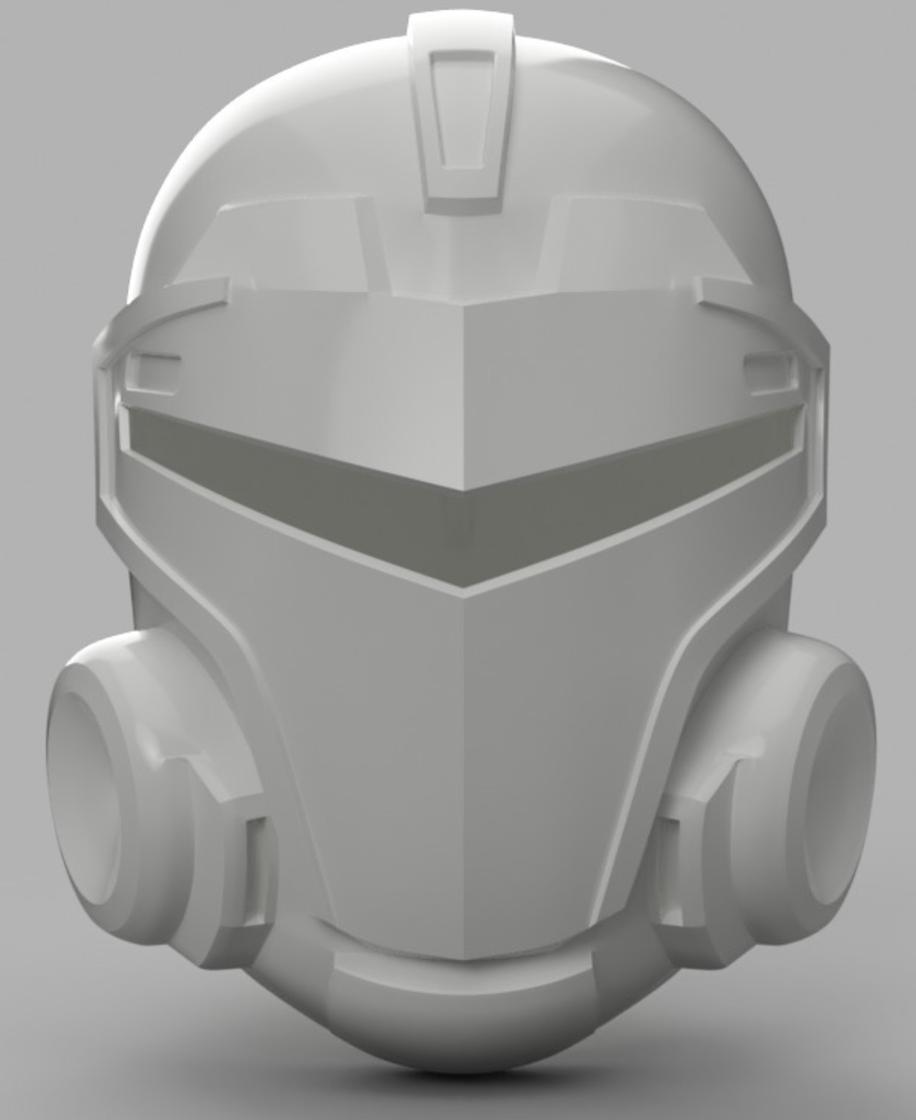 Capture d'écran 2017-09-15 à 16.14.50.png Download free STL file  Blood Dragon Helmet Mass Effect 2 (With Back Access) • 3D printable template, VillainousPropShop