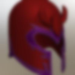 Archivos STL Casco Magneto, VillainousPropShop