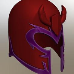 Objet 3D Casque Magneto, VillainousPropShop