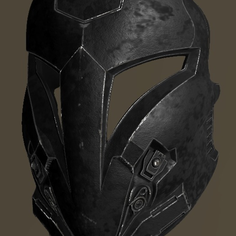 Free 3d print files Arcann Mask Star Wars, VillainousPropShop