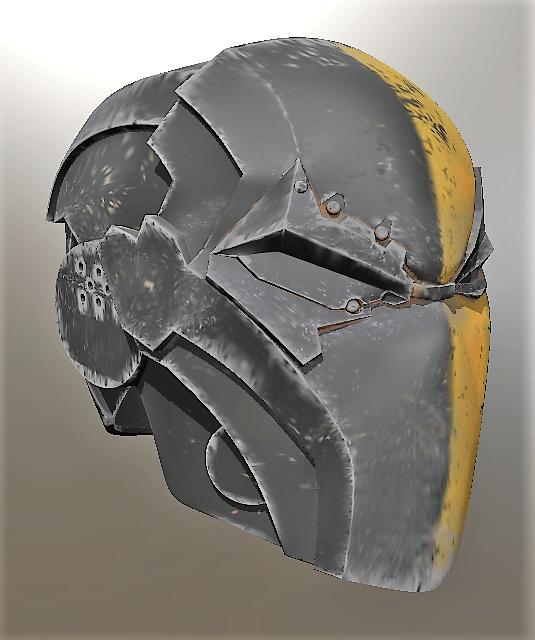 deathstroke Helmert Injustice 2.png Download STL file Deathstroke Injustice Helmet • 3D printable model, VillainousPropShop