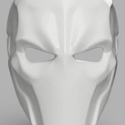 Free 3D print files Deathstroke Mask with two eyes, VillainousPropShop