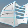 Capture d'écran 2017-09-15 à 10.36.05.png Download free STL file  Iron Musketeer's Helmet (Final Fantasy XI) • 3D printable design, VillainousPropShop