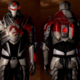 Free stl file Blood Dragon Helmet Mass Effect 2, VillainousPropShop