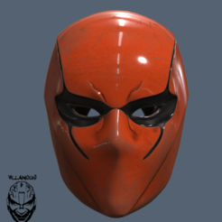 Diseños 3D Casco Capucha Roja Hembra, VillainousPropShop