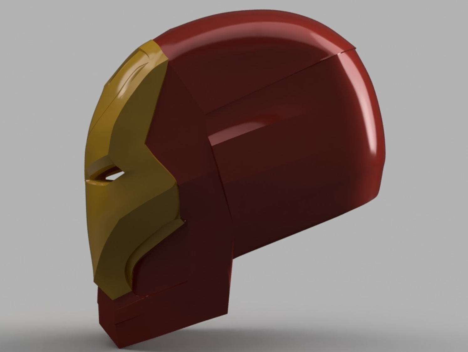 Capture d'écran 2017-09-15 à 09.57.42.png Download free STL file Iron Man Mark 46 Helmet (Captain America Civil War) • 3D printing template, VillainousPropShop