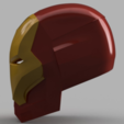 Free 3D printer files Iron Man Mark 46 Helmet (Captain America Civil War), VillainousPropShop