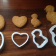 Download free STL files Cookie cutters!, MaterialsToBuils3D