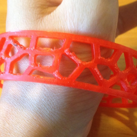 Free 3d printer model bracelet, Goedkope3Dfilamenten