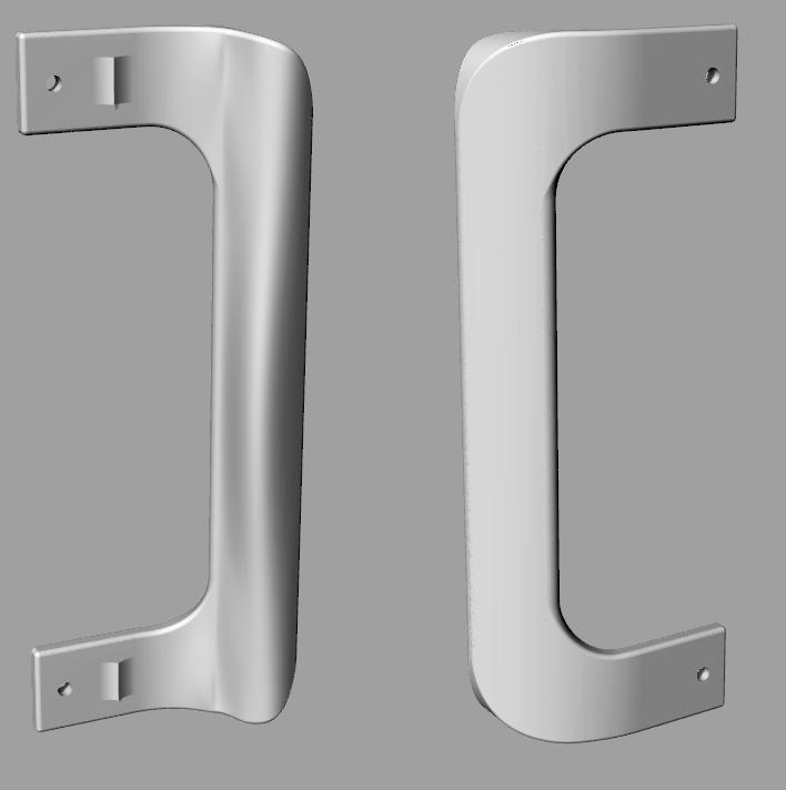 koelkasthandvat.png Télécharger fichier STL gratuit Poêle réfrigérateur ou congélateur • Design imprimable en 3D, MaterialsToBuils3D