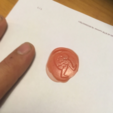 Free stl Wax stamp for SRC Thor, Goedkope3Dfilamenten
