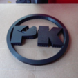 Download free 3D printing designs Car emblem logo of Plankenkoorts, Goedkope3Dfilamenten