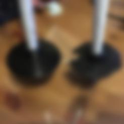 skistok_teller.STL Download free STL file Ski pole basket • 3D print design, MaterialsToBuils3D